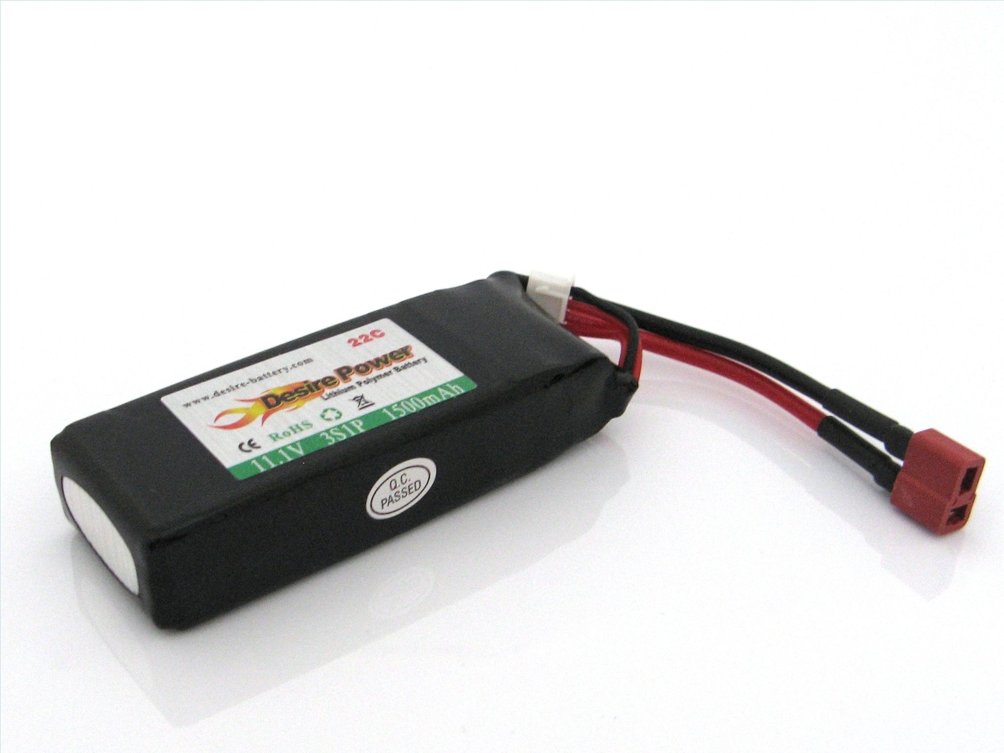 LiPo Battery 11,1V 1500mAh 22C Deans